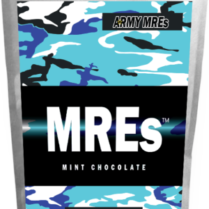 Meal Ready-to-eat ARMY MRE Mint Chocolate 24Tabs