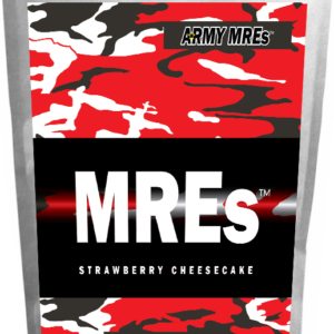 Meal Ready-to-eat ARMY MRE Strawberry Cheesecake 24 tabs