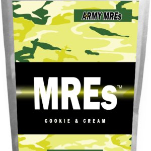 Meal Ready-to-eat ARMY MRE Cookie & Cream 24 Tabs