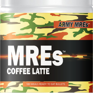 Meal Ready-to-eat ARMY MRE Coffee Latte